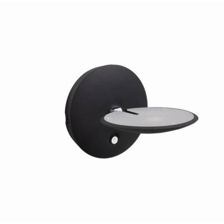 MDC Sione LED 7w black chrome wall lamp