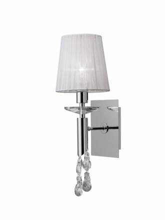 Mantra Tiffany wall lamp 1 lampshade chrome