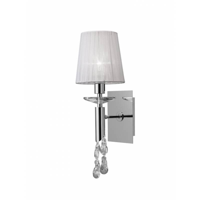 Mantra Tiffany wall lamp 1 lampshade chrome