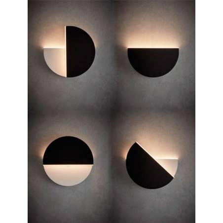 Aplique de pared Gir LED 10w giratorio MDC ambiente