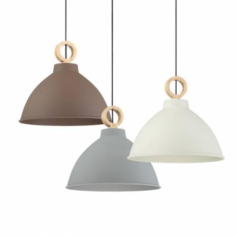 Lámpara colgante Aroa E27 madera modelos - MDC