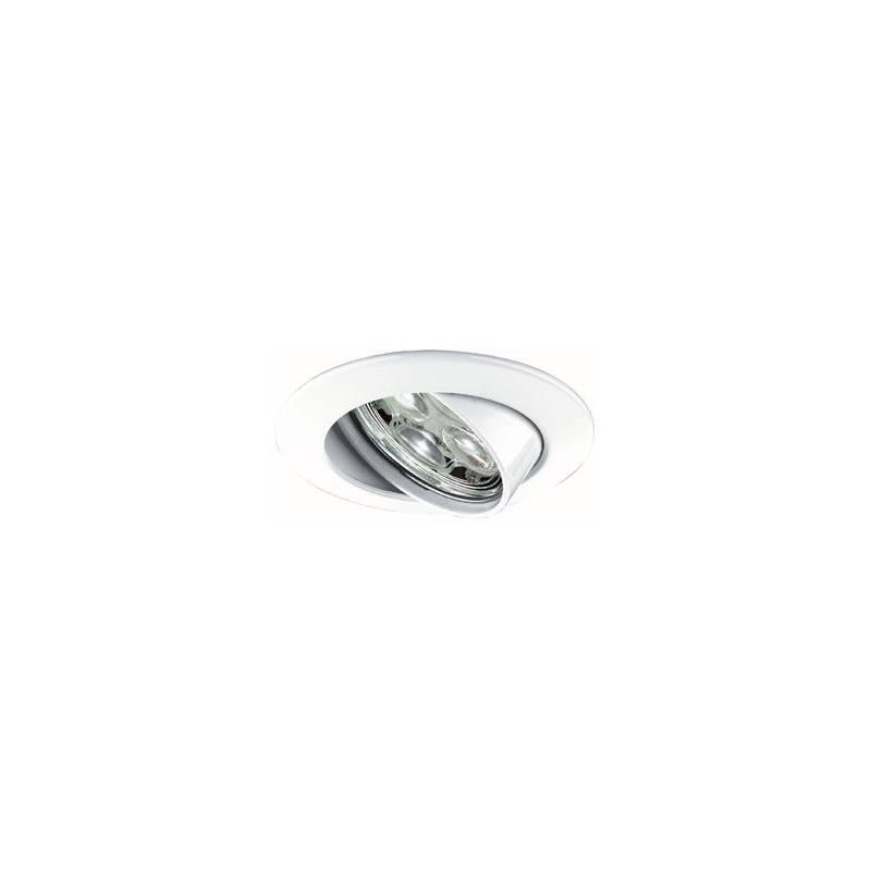 MASLIGHTING Zamack round recessed light LED 6w white