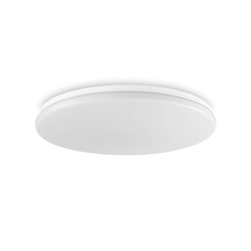 MDC Eros LED 72w dimmable + remote control opal ceiling lamp
