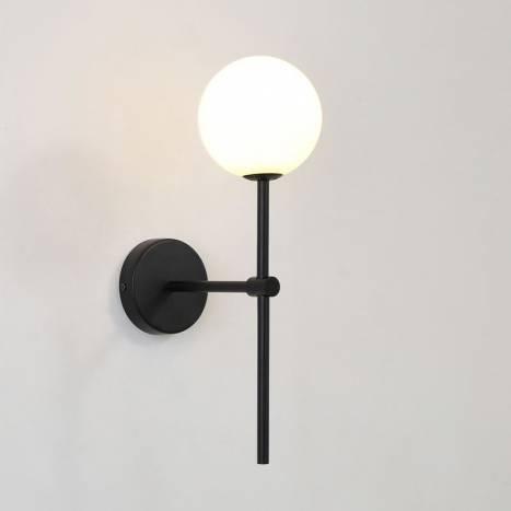 ACB Doris G9 wall lamp black