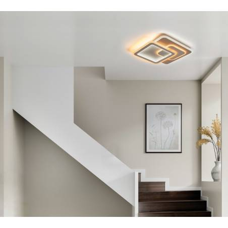 MDC Pluni LED 65w + remote control ceiling lamp ambient