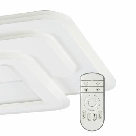 MDC Pluni LED 65w + remote control ceiling lamp detail