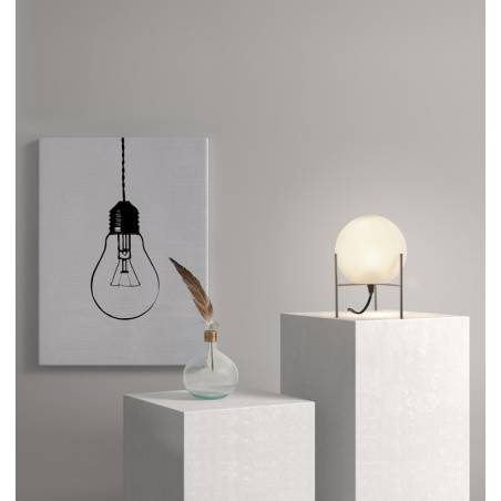 MDC Neil E27 glass gold table lamp ambient