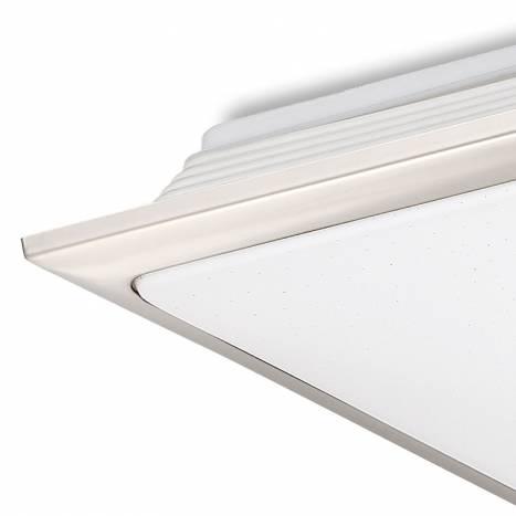 MDC Nila LED 40w + remote control matt chrome ceiling lamp detail