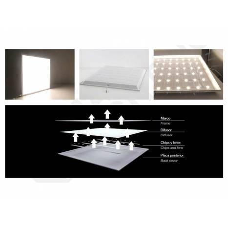Panel de techo LED 45w 60x60 Star Line Plus - Maslighting