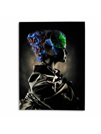 Fotografía impresa Geisha 135x100 cristal - Schuller