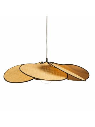 ILUSORIA Palmito E27 raffia pendant lamp