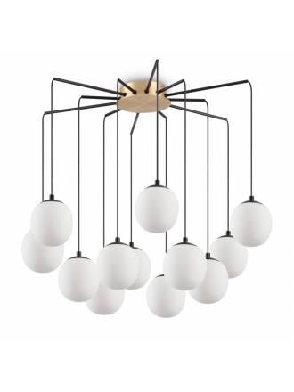 Ideal Lux Rhapsody LED 12L G9 glass ceiling lamp