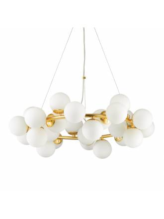 IDEAL LUX Dna 15L G9 glass pendant lamp