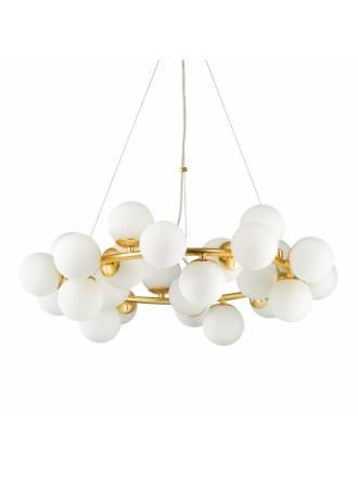Lámpara colgante Dna 25L G9 cristal - Ideal Lux