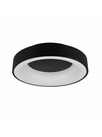 Plafón de techo Girona LED 30w regulable negro - Trio