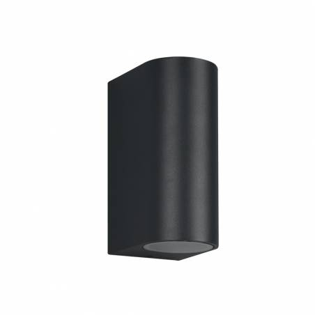 TRIO Roya 2L GU10 IP44 round wall lamp