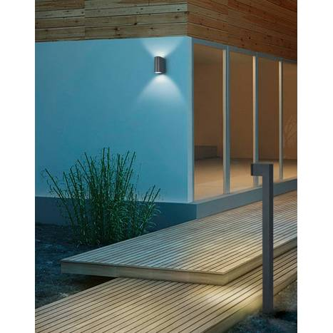 TRIO Roya 2L GU10 IP44 wall lamp ambient