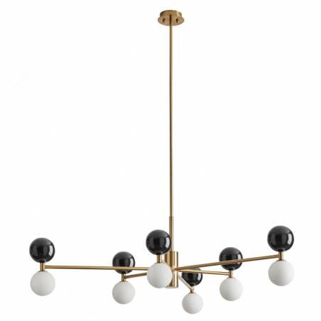 AROMAS Dalt 6L marble black gold pendant lamp