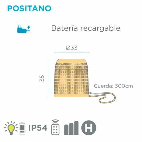 NEWGARDEN Positano LED IP54 pendant lamp info