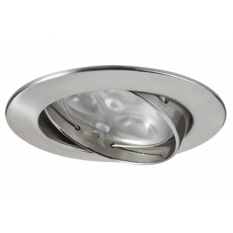 MASLIGHTING Zamack round recessed light LED 6w inox
