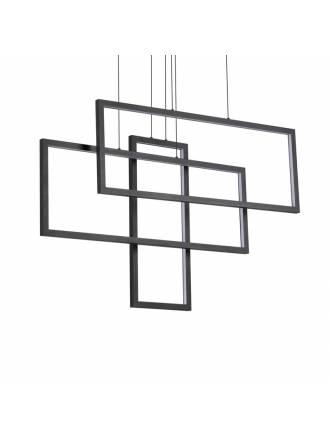Lámpara colgante Frame LED rectangular - Ideal Lux