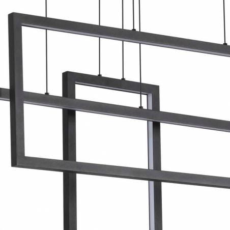 IDEAL LUX Frame LED pendant lamp rectangular detail