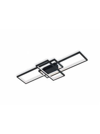 Plafón de techo Thiago LED 36w RGB wifi negro - Trio