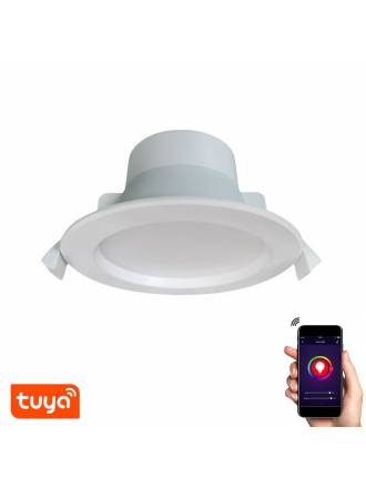 Foco empotrable Cam LED 9w WIFI Tuya - Sulion