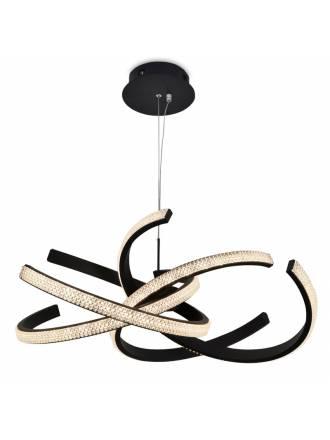 SCHULLER Ring II LED 43w black pendant lamp