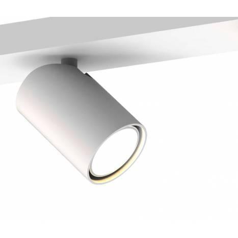 MANTRA Sal 3L GU10 white surface spotlight