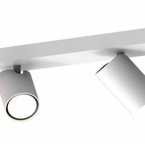 MANTRA Sal 2L GU10 white surface spotlight