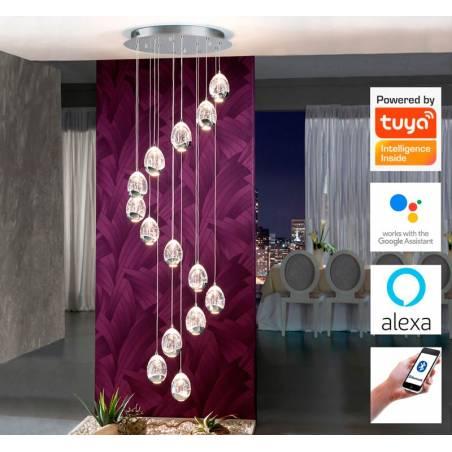 SCHULLER Rocio LED 70w smart wifi pendant lamp