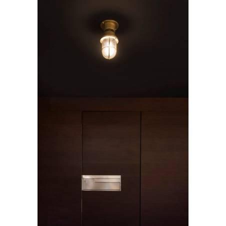FARO Mauren E27 IP44 brass ceiling/bollard ambient 1