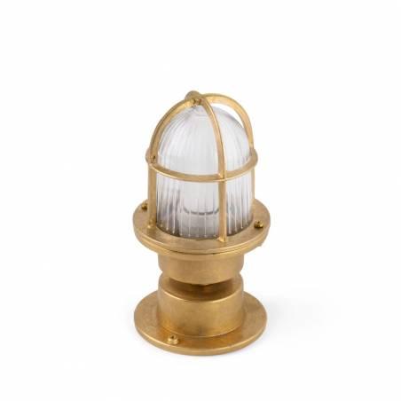 FARO Mauren E27 IP44 brass ceiling/bollard 1