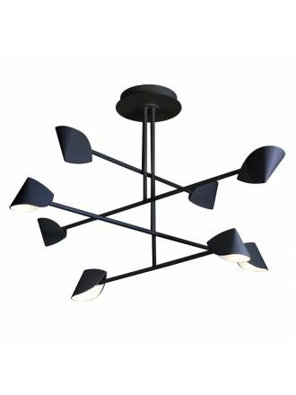 Lámpara de techo Capuccina LED 61w negro - Mantra