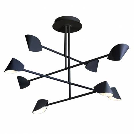 MANTRA Capuccina LED 61w black ceiling lamp