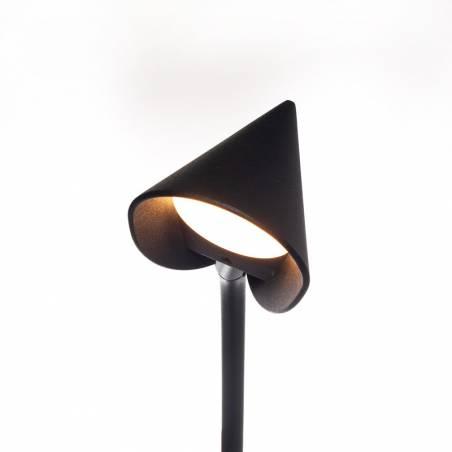 MANTRA Capuccina LED 61w black ceiling lamp tulip