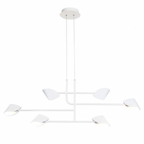MANTRA Capuccina LED 45w white pendant lamp
