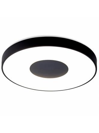 Plafón de techo Coin LED 100w regulable negro - Mantra