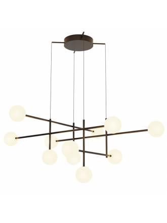 Lámpara colgante Cellar LED 11L cristal - Mantra