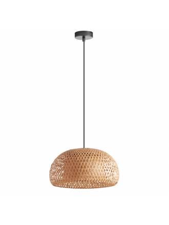 Lámpara colgante Niu E27 38cm bambú - MDC