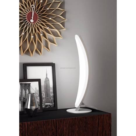 Sobremesa Hemisferic LED 6w aluminio de Mantra