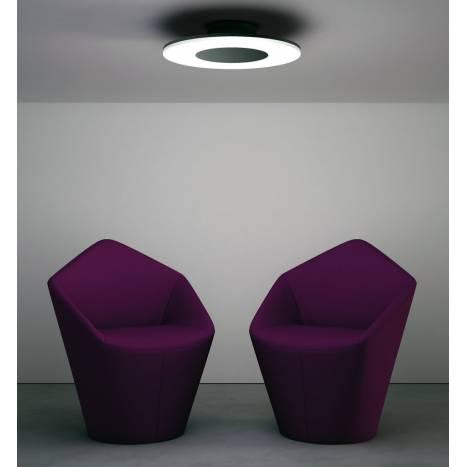 Plafon de techo Discobolo LED 36w aluminio de Mantra