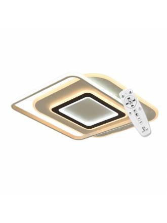 Plafon de techo Lyra LED 75w + mando - Cristalrecord