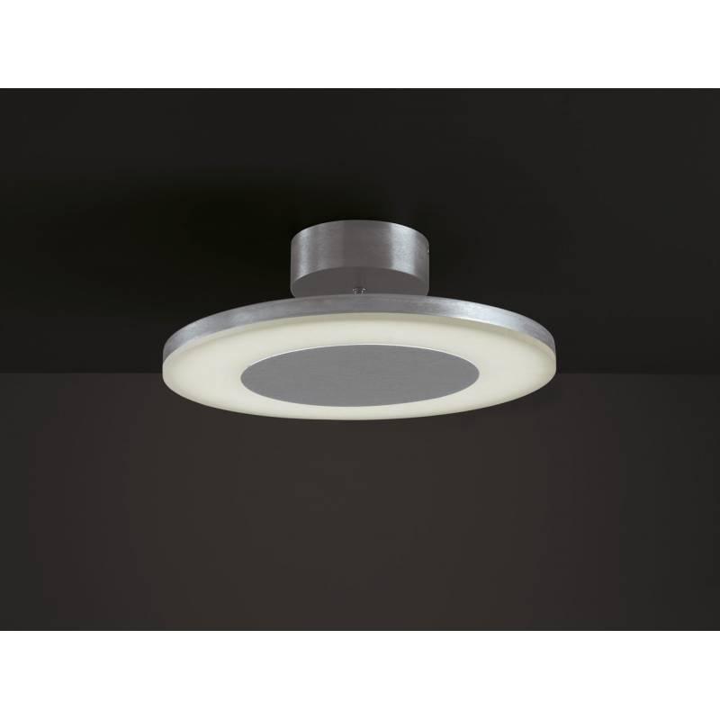 Plafon de techo Discobolo LED 28w aluminio de Mantra