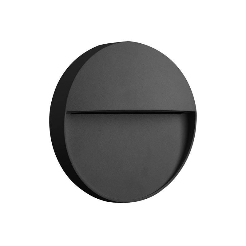 MANTRA Baker Round LED surface step light grey