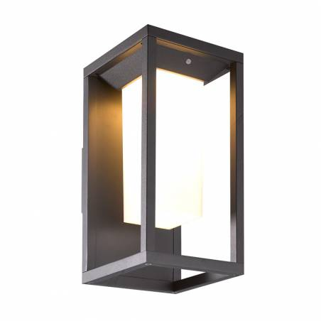 MANTRA Meribel LED solar sensor wall lamp