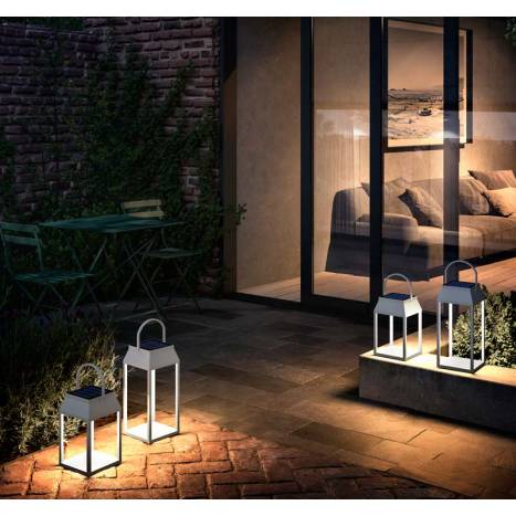 MANTRA Sapporo LED solar + USB portable lamp ambient