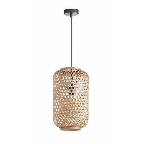 MDC India E27 natural bamboo pendant lamp