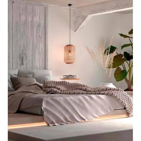 MDC India E27 natural bamboo pendant lamp ambient